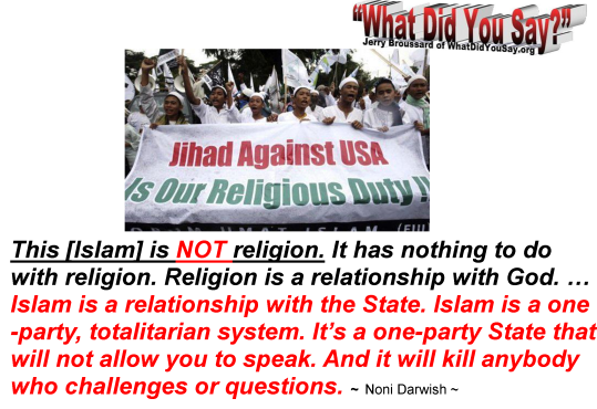 Islam is NOT